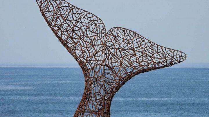 El homenaje a la ballena franca