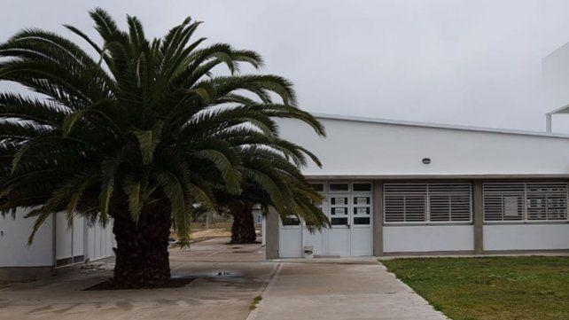El edificio propio para la escuela secundaria es una obra a punto de finalizar.