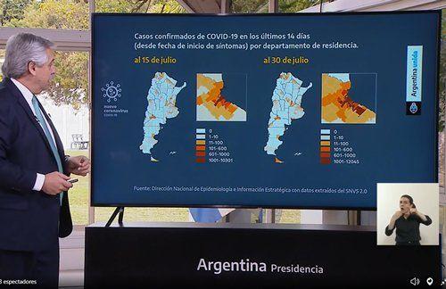 Alberto Fernández extendió la cuarentena sin cambios y pidió más responsabilidad y cuidado