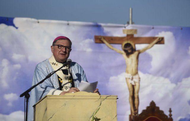 Por la paz. El arzobispo Martín pidió afianzar la cultura del encuentro.