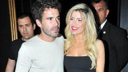 Nico Cabré y Laurita Fernández en los tiempos donde todo era felicidad.