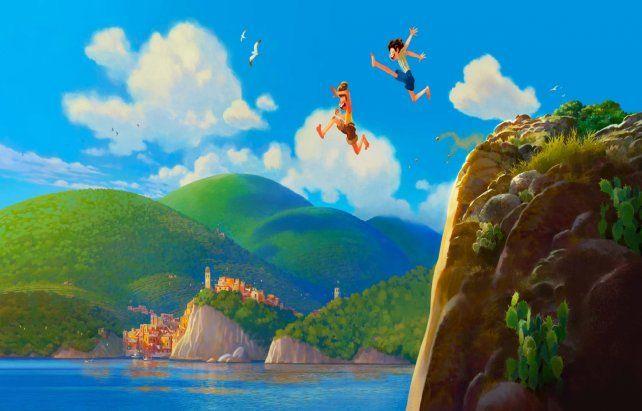 Riviera. El filme animado girará en torno a la amistad entre dos niños.