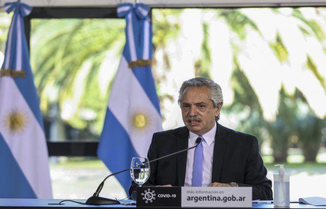 Presidente. Fernández dijo que la intención era rescatar la empresa