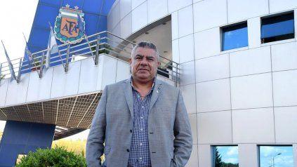 Claudio Tapia, el presidente de la AFA.