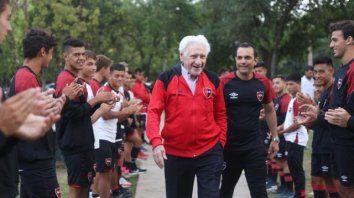 De vuelta en casa. Jorge Griffa regresó a Newell's como director de captación. Potenció notablemente la estructura de inferiores.