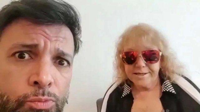 Martín Bossi y su mamá