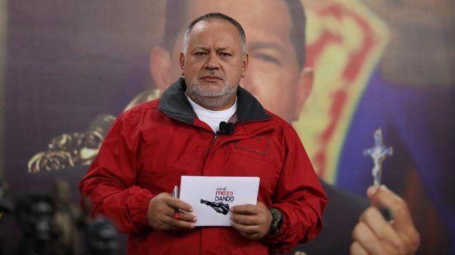 Reapareció Diosdado Cabello tras enfermar de coronavirus pero dudan de que sea él