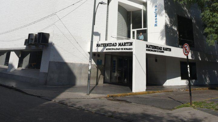 Maternidad Martin. En el centro de salud se activaron los protocolos establecidos ante un caso positivo.