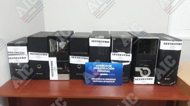 En tres días allanaron casinos clandestinos en Rosario y Villa Gobernador Gálvez