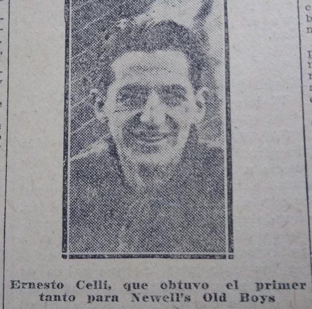 Ernesto Celli convirtió en el clásico y después fue protagonista del incidente que decidió la suspensión del partido.