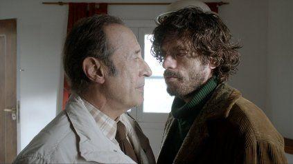 """En crisis. Guillermo Francella y Federico Salles, con una compleja relación en """"Animal"""", del director Armando Bo."""