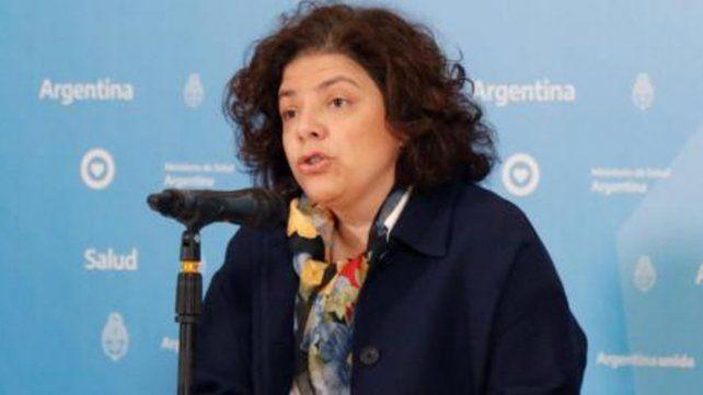 Carla Vizzotti explicó que a los recuperados que se informan a través del Sistema Nacional de Vigilancia en Salud se los contabiliza de dos maneras.