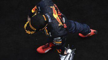 Max Verstappen siempre está al acecho de los Mercedes en la F-1 y es su sombra desde que se subió a un Red Bull en 2016.