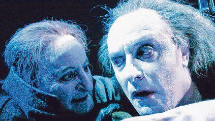 """Recuerdo. """"Alejandro Urdapilleta (derecha) era un gran, magnífico actor y enorme compañero"""", dijo Carnaghi."""