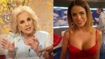 Mirtha Legrand se enojó y bloqueó a Marina Calabró