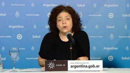 La secretaria de Acceso a la Salud, Carla Rizzotti.
