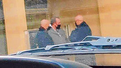 Reunión clave. Ponce Asahad, Ugolini y Serjal en un cónclave el 24 de julio pasado en Montevideo al 2100.