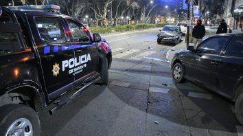 Así quedaron los vehículos en Buenos Aires y Pellegrini.