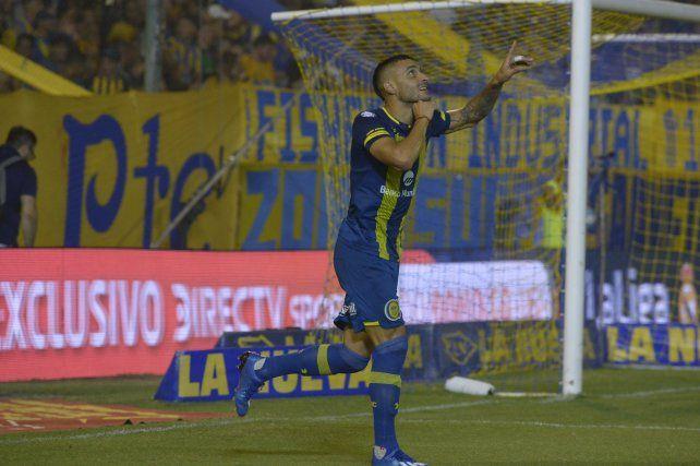 Ribas marcó cuatro goles con la camiseta de Central. No está dentro del proyecto del Kily.