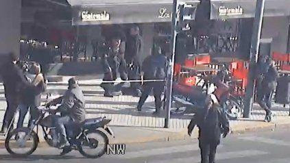 Video: así fue la detención de los ladrones en zona sur tras la balacera