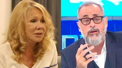 Soledad Silveyra con los tapones de punta: Rial es un violento con las mujeres
