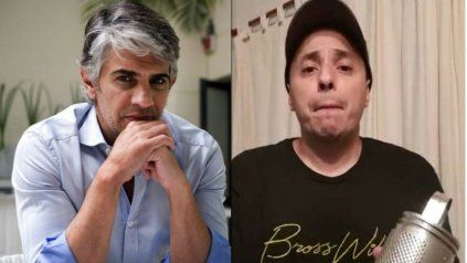 El Dipy y el actor Pablo Echarri se cruzaron fuerte en las redes sociales