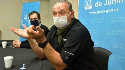 Sergio Berni dio positivo de coronavirus