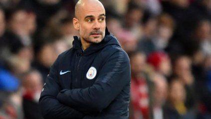 Pep Guardiola no enfrentará a su ex club, si es que supera hoy a Olympique