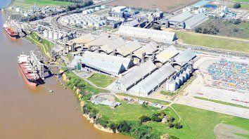 riesgos. Los trabajadores de los puertos del cordón industrial están más expuestos que en otras actividades.