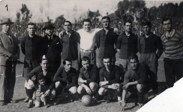 La formación de los leprosos frente a Torino, el subcampeón italiano.