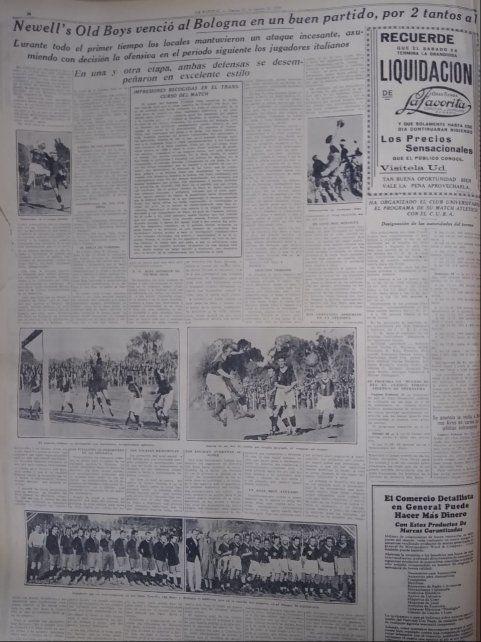 La crónica del diario La Capital luego del 2 a 1 de Newell