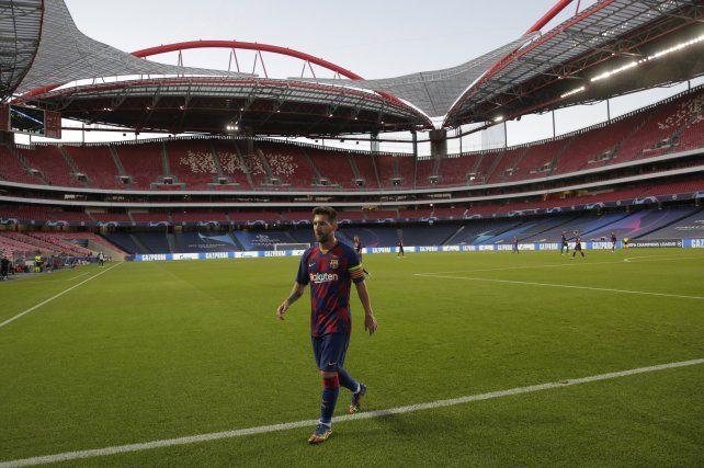 Messi está desencantado con Barcelona.