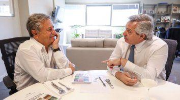 El ex presidente Eduardo Duhalde y Alberto Fernández