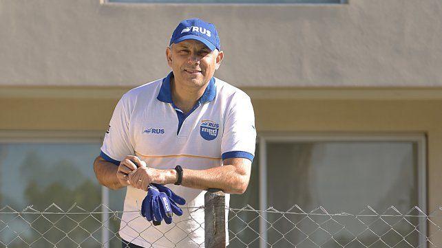 Mauro Medina, el dueño del Rus Med Team rosarino del TC Pista. Espera que se pueda correr pronto, en La Plata, el Gálvez o donde se pueda.