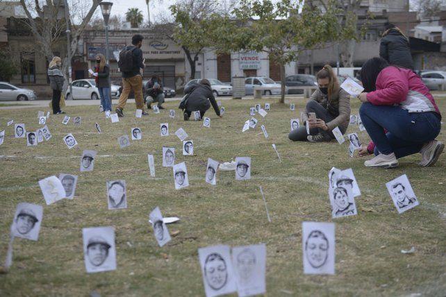 Organizaciones políticas y sociales convocaron a una ceremonia antes de conocer la sentencia.