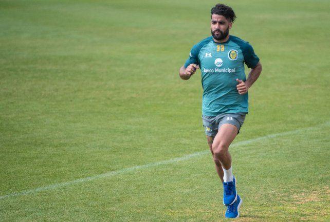 Brítez es uno de los lesionados que hay hoy el plantel de Central del Kily González.