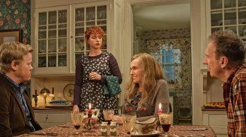 """Una familia muy normal. """"Pienso en el final"""" es un thriller psicológico sobre el amor, la soledad y el arrepentimiento."""
