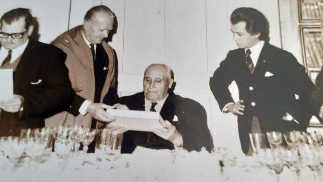 Marcelino Fasoletti fue corresponsal de La Capital en Pujato.
