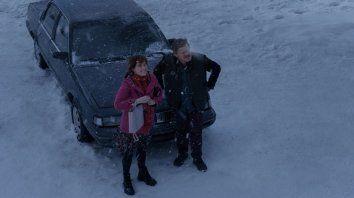 La pareja protagonista está en permanente tensión en la nueva película de Charlie Kaufman.