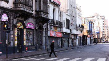 Las calles de la ciudad volvieron a mostrarse desoladas. Al menos, en el centro.
