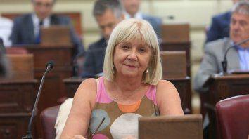 La diputada provincial por el PJ Matilde Bruera.