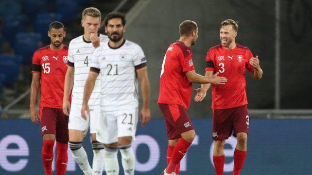 Gundogan hizo el tanto alemán y luego sufrió el empate suizo.