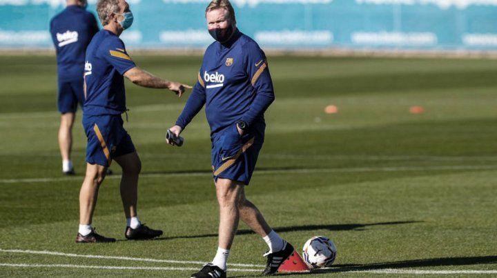 Koeman: Messi es el mejor y ojalá pueda repetirlo esta temporada