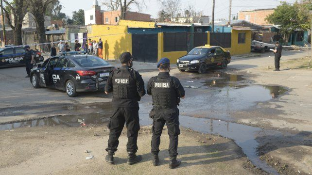 Sergio Palma fue baleado en Cavia y Larrechea esta tarde alrededor de las 15.