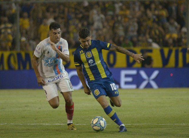 Hoy Martínez tiene la de Central, quizá vista la de Independiente.