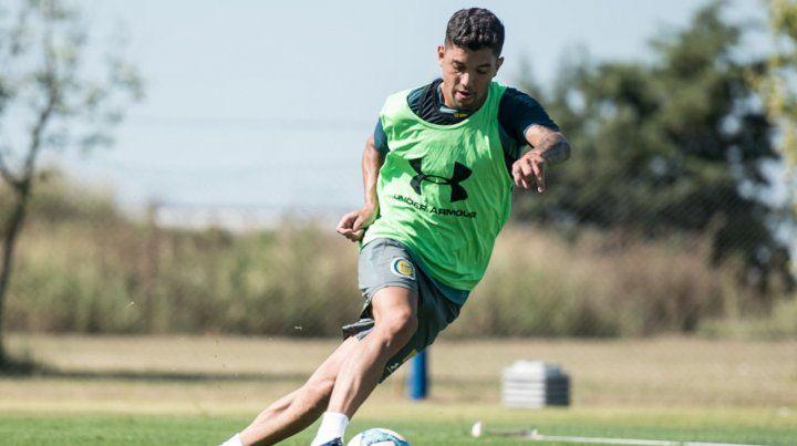 Federico Martínez por ahora se entrena con el Kily en Arroyo Seco.