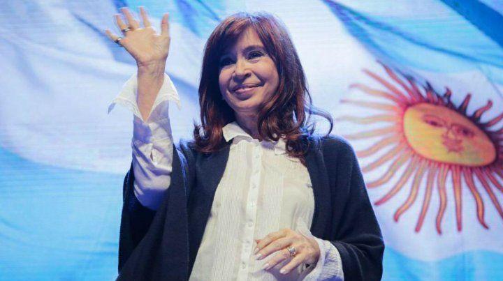 La vicepresidenta de la Nación