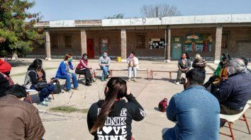 El comité se formó con la necesidad de ayudar a los vecinos del barrio.