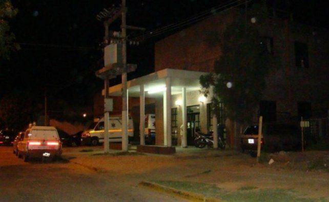 La víctima fue trasladada al Hospital Anselmo Gamen de Villa Gobernador Gálvez y luego al Heca