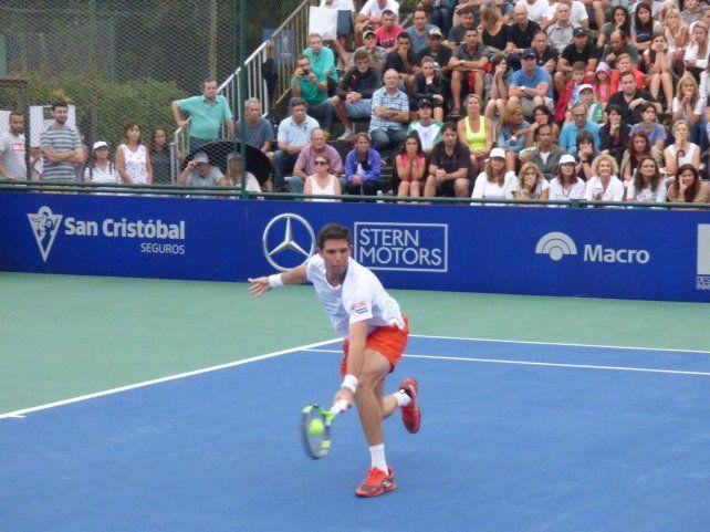 El Jockey Club es sede de importantes eventos de tenis con la presencia de jugadores de elite mundial.